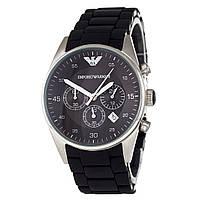 Мужские часы Emporio Armani цвет корпуса серебро, класс ААА