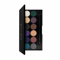 Палетка теней i Divine Eyeshadow Palette Ultra Matte V2,  Sleek