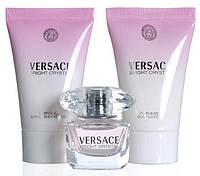 Оригинал! Набор Versace Bright Crystal от Versace  50 ml (EDT50+ B/L50 + SH/G 50) NNR ORGAP /0-34