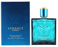 Мужская оригинальная туалетная вода Versace Eros 50 ml  NNR ORGAP /6-33