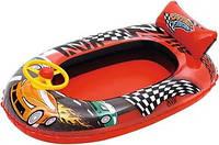 Детская надувная лодка Машина Bestway 34090