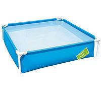 Детский каркасный бассейн Bestway 56218 (163х163х35,5 см)