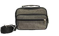Мужская маленькая сумка 3в1 цвета хаки (2663-х)