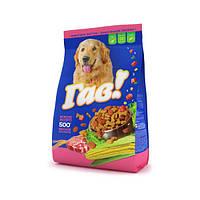 Сухой корм для собак с мясным ассорти 0,5 кг - ГАВ