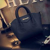 Маленькая женская сумка Le bailu черная