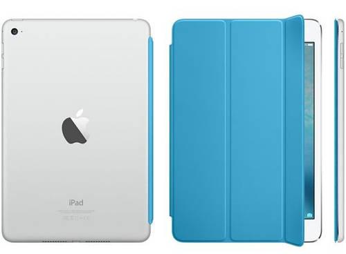 """Надежный полиуретановый чехол 7.9"""" Apple Smart Cover для iPad mini 4 Blue MKM12ZM/A голубой"""