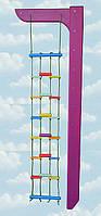 Веревочная лестница цветная «Пиратик»