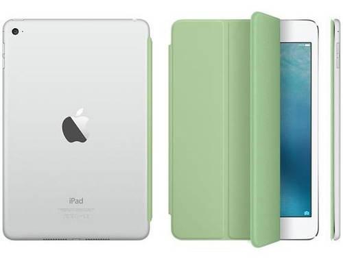 """Полиуретановый женский чехол 7.9"""" Apple Smart Cover для iPad mini 4 Mint MMJV2ZM/A мятный"""