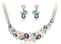 Набор ожерелье и серьги tb1148