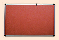 Доска для объявлений пробковая в раме S-line 100х180 (131018)
