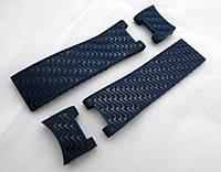 Ремешок к часам Ulysse Nardin синий, 4 части, универсальный комплект