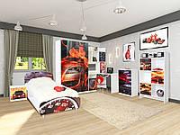 Детская спальня Мульти Гонки (Світ Меблів ТМ)