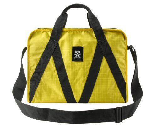 Эффектная сумка для ноутбука 15 л. Light Delight Boarder Crumpler LDB-009 желтый