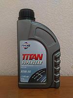 Трансмиссионное масло FUCHS TITAN SUPERGEAR 80W-90 (1л.) универсальное для механических коробок передач и др.