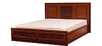 Кровать 2-сп 1,8 Лацио (б/матраса и каркаса )(ТМ Свiт Меблiв)