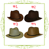 Шляпа ковбоя с короткими полями