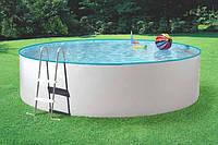 Сборный бассейн Mounfield 460 white круглый, 4,6х0,9, без фильтрации, с отверстиями под фильтрацию