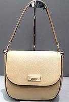 Брендовая женская сумка  DKNY Донна Каран черная