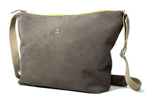 Стильная городская сумка 7 л. Bavarian Boomer Shoulder Crumpler BABS-001 серый