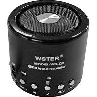 Портативная bluetooth колонка MP3 плеер WS-Q9 BLC