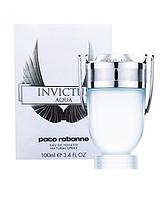 Мужская туалетная вода Paco Rabanne Invictus Aqua (Пако Рабан Инвиктус Аква), 100 мл