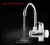 Цифровой мгновенный водонагреватель Instsnt Heating Faucet  c LCD дисплеем