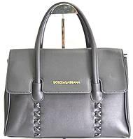 Брендовая женская сумка D&G Дольче Габбана черная