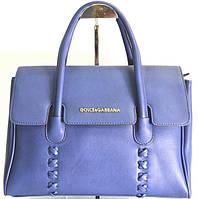 Брендовая женская сумка D&G Дольче Габбана синяя