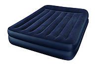 Кровать велюровая Intex 66720 (157х203х47 см)