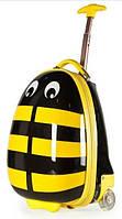 """Детский чемодан дорожный на колесах """"Josef Otten"""" Пчелка, 520254"""