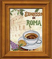 """Рисунок - схема для вышивания бисером """"Эспрессо в Риме"""""""