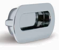 Ручка врезная модерн 96 мм. глянцевый хром MD12-0096-G0004