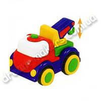 Машинки в ассортименте  (кран, бетономешалка, гоночный автомобиль)