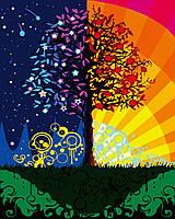 """Картина по номерам «Идейка» (КН224) художественный творческий набор """"Дерево счастья"""", 40x50 см"""