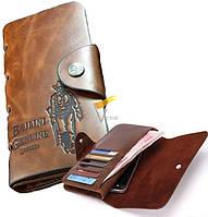 Мужской портмоне кошелек Bailini Genuine Leather