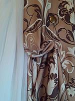 Готовые шторы лен