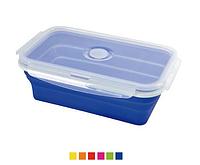 Контейнер для хранения продуктов с герметичной крышкой силикон 21.5х14х7.2 см