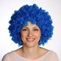 Парик клоуна (синий) 220216-085