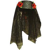 "Шляпа ""принцесса востока"" (с маками) 170216-274"