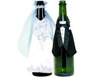 Украшение для бутылок Молодожены 1502-0394