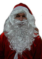 Борода Деда Мороза большая 040316-146