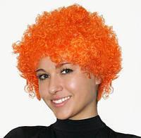 Парик клоуна (оранжевый) 220216-087