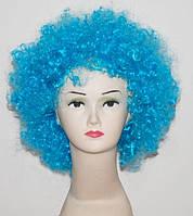 Парик клоуна (голубой) 220216-095