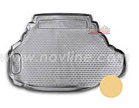 Коврик в багажник Toyota CAMRY V40 3.5 l с 2006-2013 ✓ цвет:беж.✓ производитель NovLine