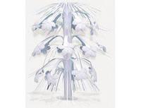 Каскад на стол цветы белые 1502-0450