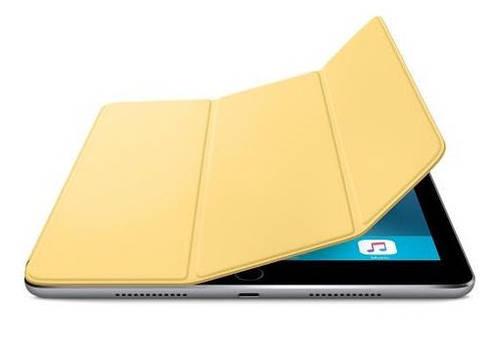 """Универсальный полиуретановый чехол желтого цвета Apple Smart Cover для iPad Pro 9.7"""" Yellow MM2K2ZM/A"""