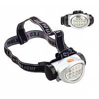 Налобный фонарик BL 603-15 Led, на батарейках, фонарик на лоб, для похода, велосипедиста, для охоты