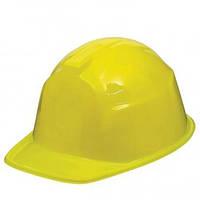 Каска болельщика пластик (желтая) 1501-3270