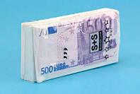 "Носовые платочки ""пачка евро"" 120316-165"