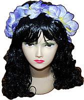Венок на голову Фиолетовые Гавайи 010316-095